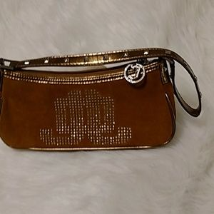 JLo mini bag  Cognac/Bronze